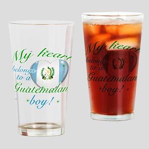 My heart belongs to a Guatemalan boy Drinking Glas