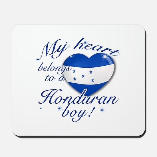 My heart belongs to a Honduran boy Mousepad