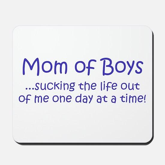 Mom of Boys Mousepad