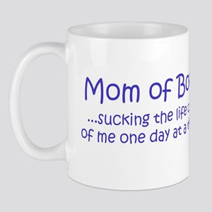 Mom of Boys Mug