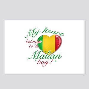 My heart belongs to a Malian boy Postcards (Packag
