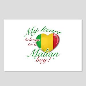 My heart belongs to a Malian boy Postcards (Packag