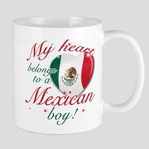 My heart belongs to a Mexican boy Mug