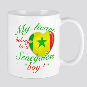 My heart belongs to a Senegalese boy Mug