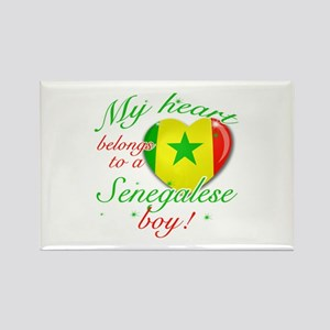 My heart belongs to a Senegalese boy Rectangle Mag
