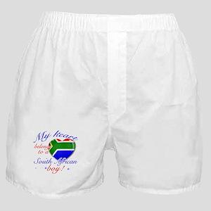 My heart belongs to a South African boy Boxer Shor