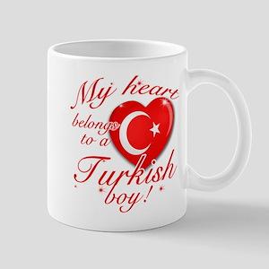 My heart belongs to a Turkish boy Mug