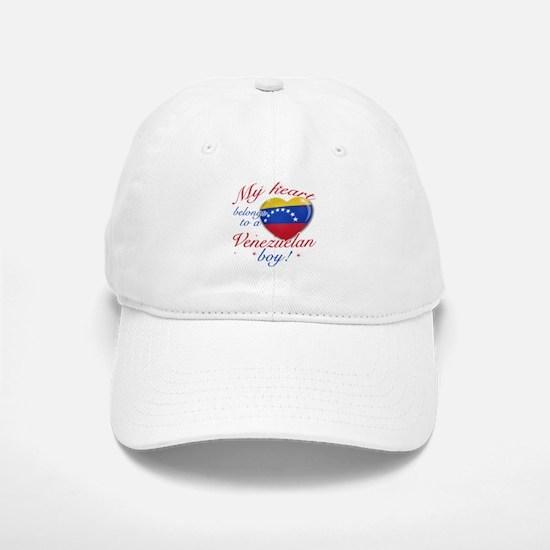 My heart belongs to a Venezuelan boy Baseball Baseball Cap