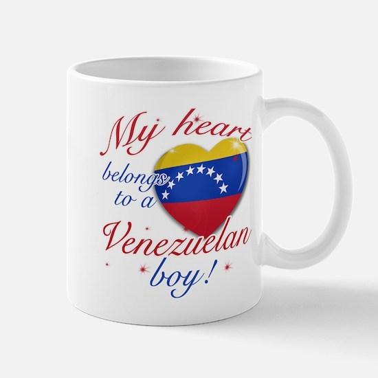 My heart belongs to a Venezuelan boy Mug