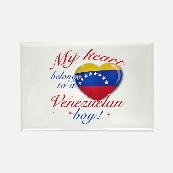 My heart belongs to a Venezuelan boy Rectangle Mag