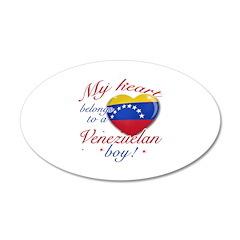My heart belongs to a Venezuelan boy 38.5 x 24.5 O