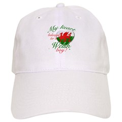 My heart belongs to a Welsh boy Baseball Cap