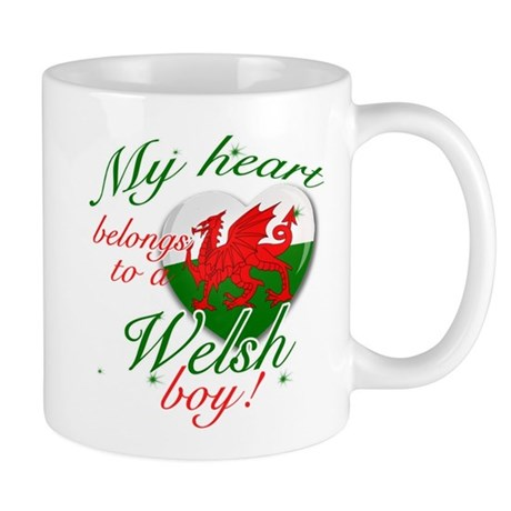 My heart belongs to a Welsh boy Mug