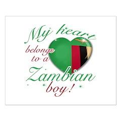 My heart belongs to a Zambian boy Posters
