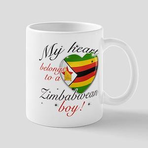 My heart belongs to a Zimbabwean boy Mug