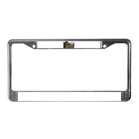 Knowhere To Hide License Plate Frame