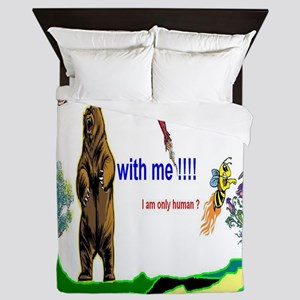 Bare With Me Queen Duvet