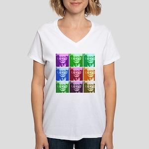 B.F. Skinner Women's V-Neck T-Shirt