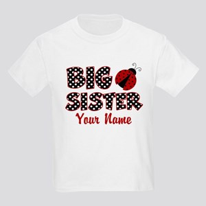 Big Sister Ladybug Kids Light T-Shirt