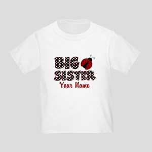 Big Sister Ladybug Toddler T-Shirt
