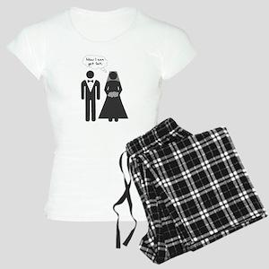 Now I Can Get Fat Women's Light Pajamas