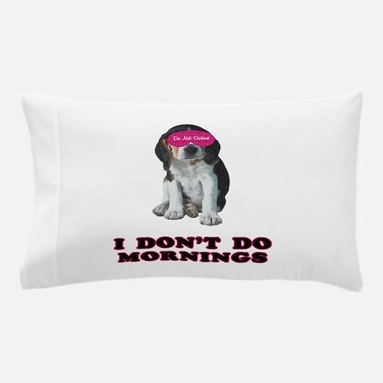 Beagle Mornings Pillow Case