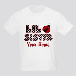 Little Sister Ladybug Kids Light T-Shirt
