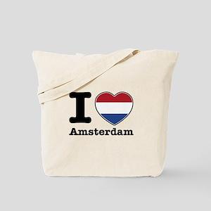 I love Amsterdam Tote Bag