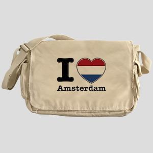 I love Amsterdam Messenger Bag