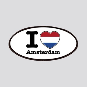I love Amsterdam Patches
