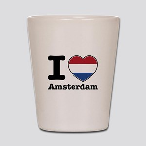 I love Amsterdam Shot Glass
