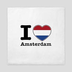 I love Amsterdam Queen Duvet