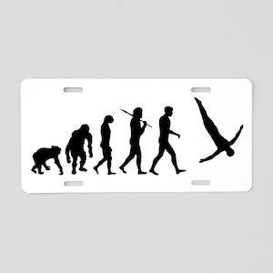 Diving Evolution Aluminum License Plate