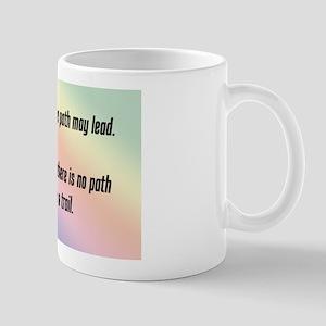 """""""Leave a Trail"""" Mug"""