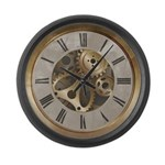 Steampunk Large Wall Clock
