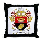 Van Keulen Coat of Arms Throw Pillow