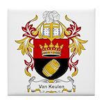 Van Keulen Coat of Arms Tile Coaster