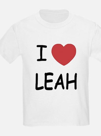 I heart leah T-Shirt