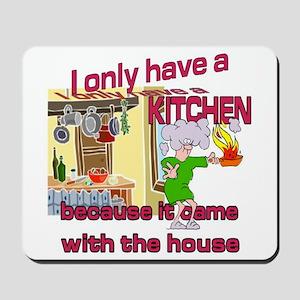 Family Fun Kitchen Mousepad