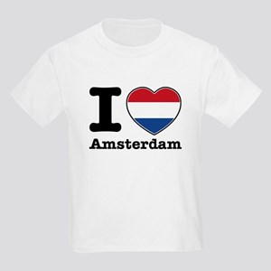 I love Amsterdam Kids Light T-Shirt