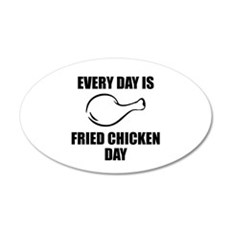 Fried Chicken Wall Decal