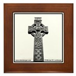 Celtic Cross Ireland Framed Tile