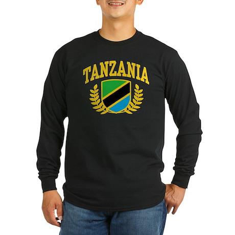 Tanzania Long Sleeve Dark T-Shirt