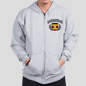 Uganda Zip Hoodie