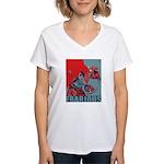 Frabjous Women's V-Neck T-Shirt