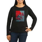 Frabjous Women's Long Sleeve Dark T-Shirt