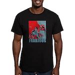 Frabjous Men's Fitted T-Shirt (dark)