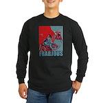 Frabjous Long Sleeve Dark T-Shirt