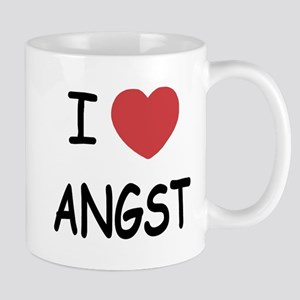I heart angst Mug