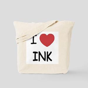 I heart ink Tote Bag